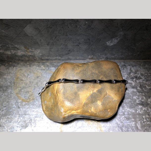 Mads Z Bambus sølvarmbånd