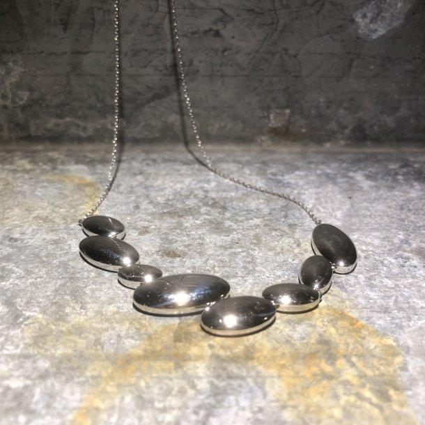 Halskæde i sølv fra Mads Z