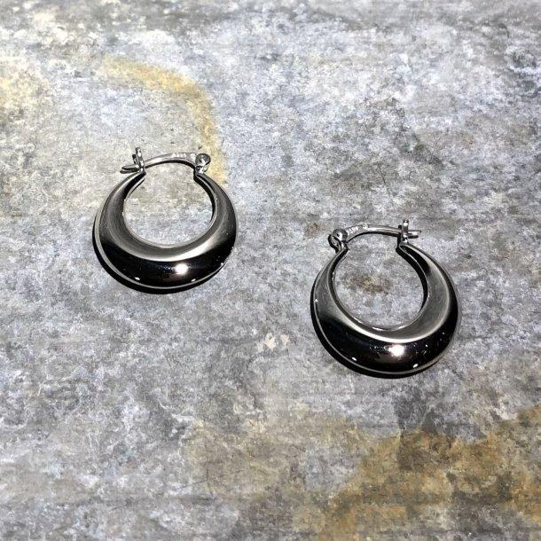 Sølv LUNA creol fra Mads Z