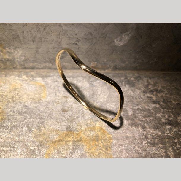 Armring i 14 krt guld fra Randers Sølv