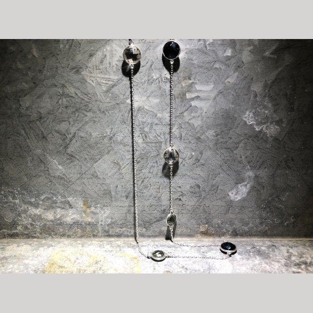 Lang sølvhalskæde fra Susanne Friis Bjørner