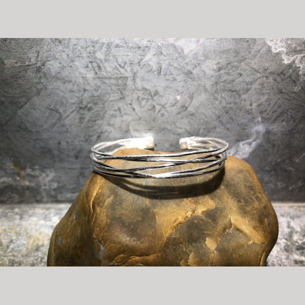 Bangle armbånd i sølv fra SFB