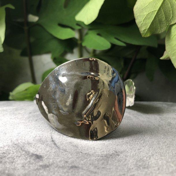 2.nd Hand - Armbånd lavet af 3-tårnet sølvske
